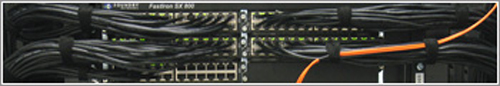 Network Switch cabled
